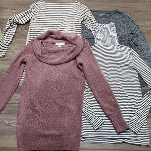 Maternity sweater bundle